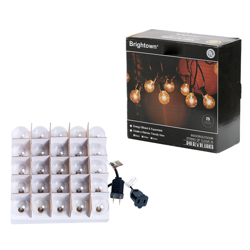 Globe String Lights Package Contents
